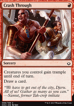 Hour of Devastation Foil: Crash Through