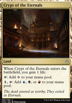 Hour of Devastation Foil: Crypt of the Eternals