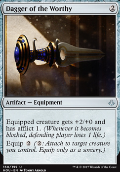 Hour of Devastation Foil: Dagger of the Worthy