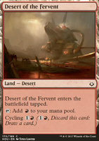 Hour of Devastation Foil: Desert of the Fervent