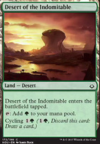 Hour of Devastation Foil: Desert of the Indomitable