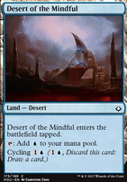 Hour of Devastation Foil: Desert of the Mindful
