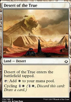 Hour of Devastation Foil: Desert of the True