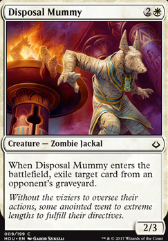 Hour of Devastation Foil: Disposal Mummy