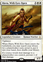Hour of Devastation Foil: Djeru, With Eyes Open