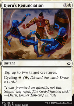 Hour of Devastation Foil: Djeru's Renunciation