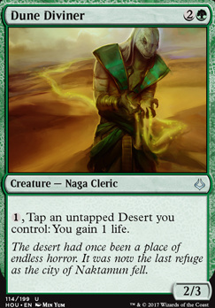 Hour of Devastation Foil: Dune Diviner