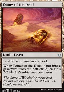 Hour of Devastation Foil: Dunes of the Dead