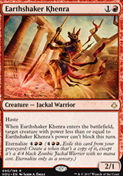 Hour of Devastation: Earthshaker Khenra