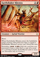 Hour of Devastation Foil: Earthshaker Khenra