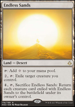 Hour of Devastation Foil: Endless Sands