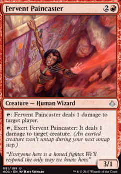 Hour of Devastation Foil: Fervent Paincaster