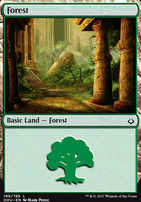 Hour of Devastation Foil: Forest (199 B)