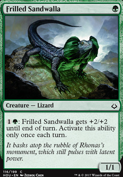 Hour of Devastation: Frilled Sandwalla
