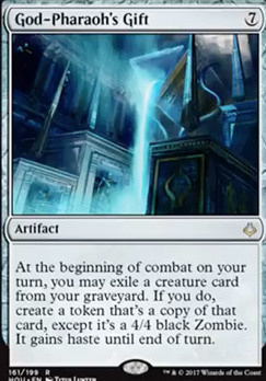 Hour of Devastation Foil: God-Pharaoh's Gift