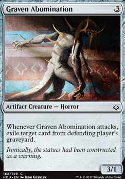 Hour of Devastation Foil: Graven Abomination