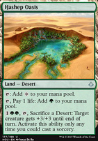 Hour of Devastation Foil: Hashep Oasis