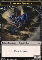 Hour of Devastation: Adorned Pouncer Token