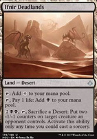 Hour of Devastation Foil: Ifnir Deadlands