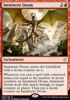 Hour of Devastation Foil: Imminent Doom