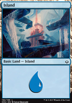 Hour of Devastation Foil: Island (192 A)