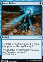 Hour of Devastation Foil: Jace's Defeat