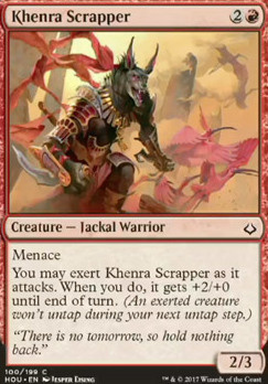 Hour of Devastation Foil: Khenra Scrapper