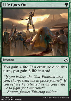 Hour of Devastation Foil: Life Goes On