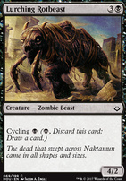 Hour of Devastation Foil: Lurching Rotbeast