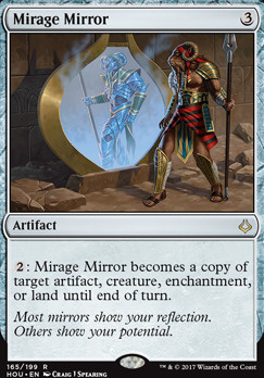 Hour of Devastation Foil: Mirage Mirror