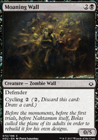 Hour of Devastation Foil: Moaning Wall