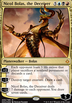 Hour of Devastation: Nicol Bolas, the Deceiver (Foil - Planeswalker Deck)