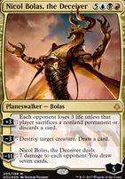 Hour of Devastation: Nicol Bolas, the Deceiver (Foil - Planeswalker Deck)