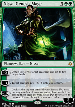 Hour of Devastation: Nissa, Genesis Mage (Foil - Planeswalker Deck)