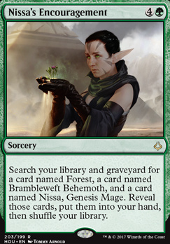 Hour of Devastation: Nissa's Encouragement (Planeswalker Deck)