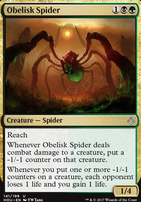 Hour of Devastation: Obelisk Spider