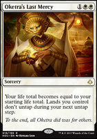 Hour of Devastation Foil: Oketra's Last Mercy