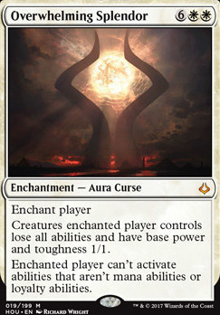 Hour of Devastation Foil: Overwhelming Splendor