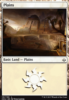 Hour of Devastation Foil: Plains (191 B)