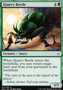 Hour of Devastation Foil: Quarry Beetle