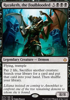 Hour of Devastation: Razaketh, the Foulblooded