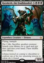 Hour of Devastation Foil: Razaketh, the Foulblooded
