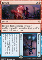 Hour of Devastation Foil: Refuse // Cooperate