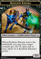 Hour of Devastation: Resilient Khenra Token