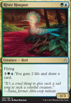 Hour of Devastation Foil: River Hoopoe