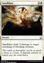 Hour of Devastation Foil: Sandblast
