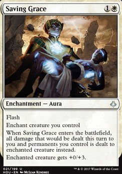 Hour of Devastation Foil: Saving Grace