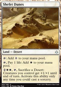 Hour of Devastation Foil: Shefet Dunes