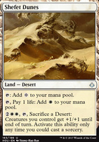 Hour of Devastation Foil: Shefet Dunes