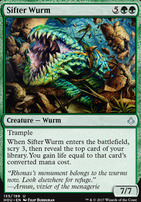 Hour of Devastation: Sifter Wurm